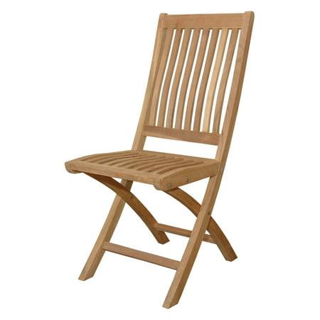 Anderson Teak Tropico Outdoor Folding Chair - Set of