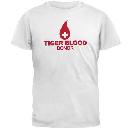 805149e0a Charlie Sheen - Tiger Blood Donor T-Shirt - Walmart.com