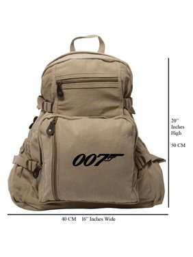 1189ad8391 Product Image James Bond 007 Army Sport Heavyweight Canvas Backpack Bag