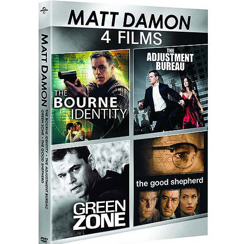 Matt Damon: 4-Film Spotlight Series - The Adjustment Bureau / The Bourne Identity / The Good Shepherd / Green Zone (Anamorphic Widescreen)