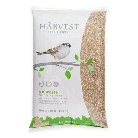 Harvest Seed & Supply No Waste Wild Bird Food, 10 (Exotic Bird Food)