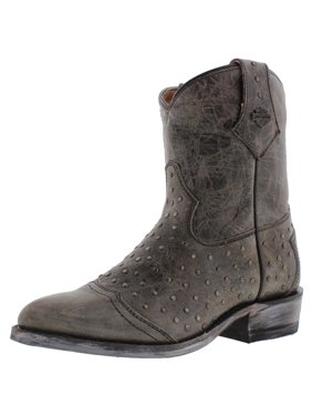 e1a1646c760d3 Product Image Harley-Davidson Womens Violet Leather Studded Cowboy
