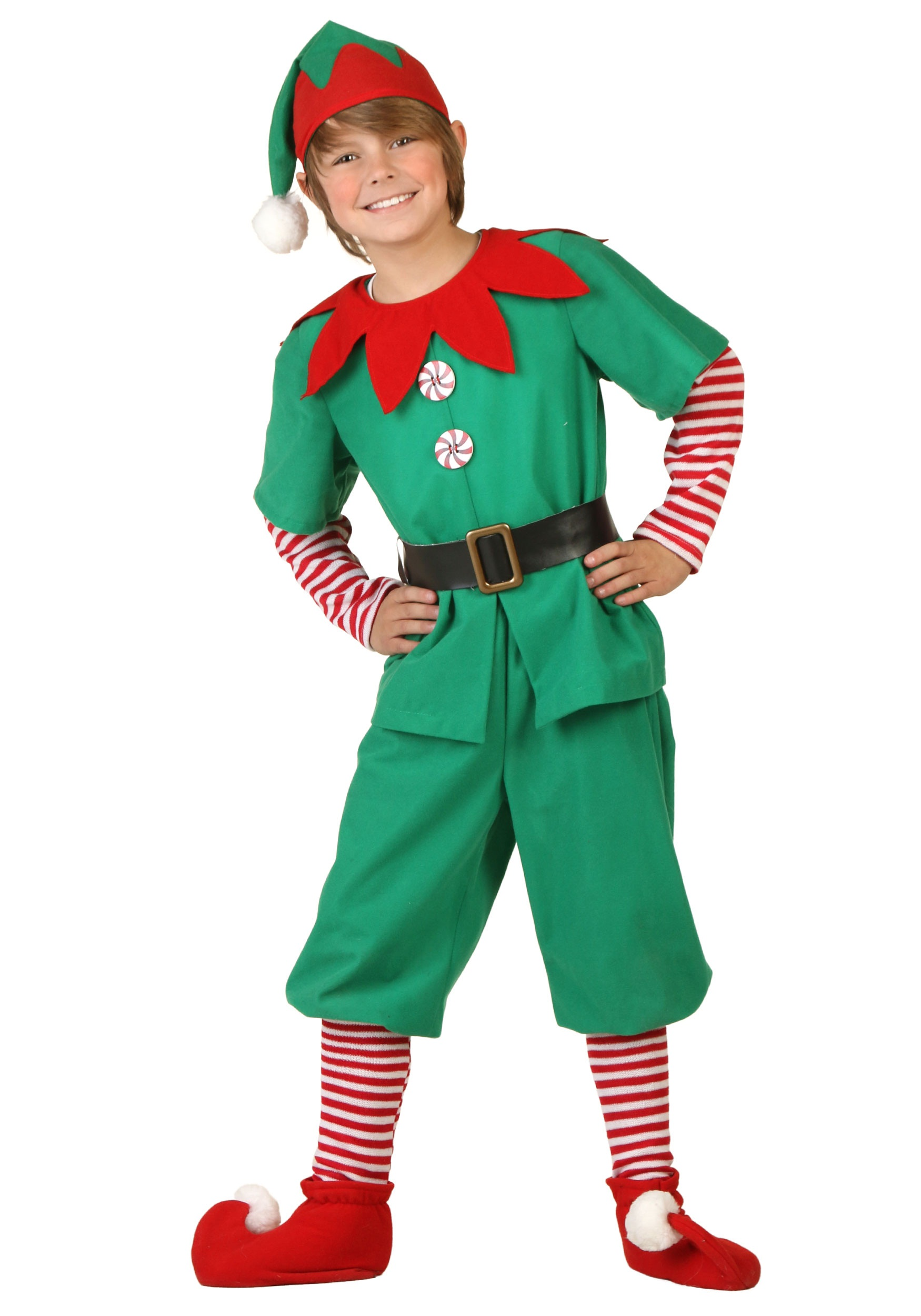 Red Flannel Child Santa Suit Christmas Costume Childrens Small or Large New