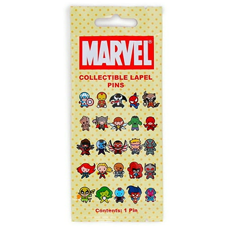 Marvel Collectible Lapel Pin Blind Bag, One Random Nfl Collectible Pins