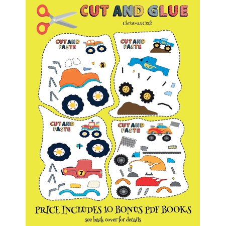 Christmas Craft (cut And Glue - Monster Trucks) ()
