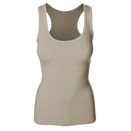 a54999eacb6 Emmalise Women s Athletic Active Basic Yoga Gym Tank Top Tee Tshirt ...