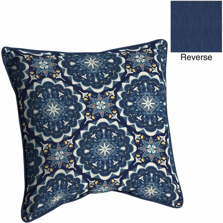 Better homes and gardens outdoor patio reversible deep - Better homes and gardens patio cushions ...