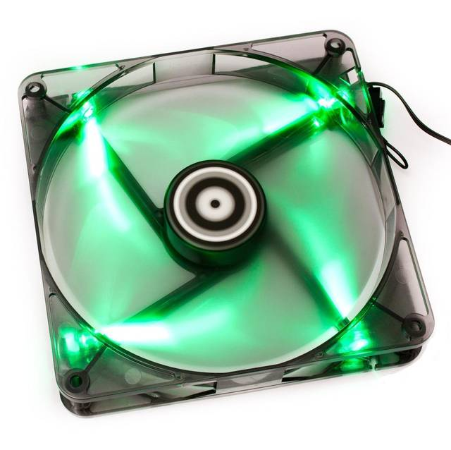 Bitfenix BFF-BLF-12025G-RP Spectre 120mm Green Led Case Fan