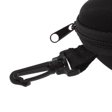 Portable Zipper Clam Eye Glasses Sunglasses Shell Hard Case Box Pouch Bag - image 5 of 7