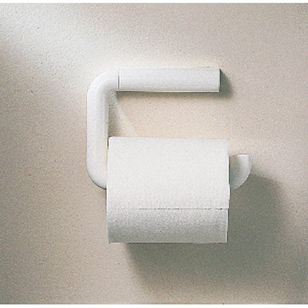InterDesign Wall Mount Toilet Paper Holder For Bathroom White