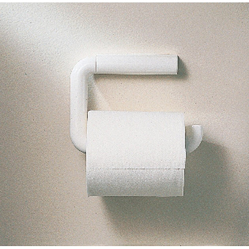 interdesign wall mount toilet paper holder for bathroom white - Wall Mount Toilet