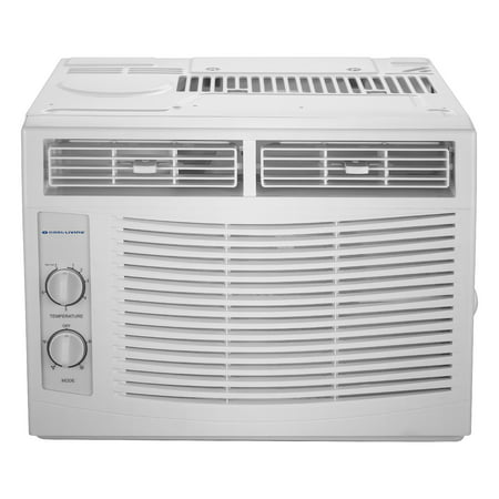Cool-Living 5,000 BTU Window Air Conditioner, 115V With Window (Best Casement Window Air Conditioner)