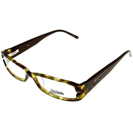 Jean Paul Gaultier Eyeglasses Frames Womens SJP96 579 0A40 Copper Semi Rimless Size: Lens/ Bridge/ Temple: 00-00-00