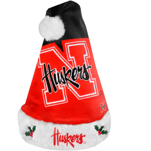 NCAA 2011 Colorblock Santa Hat, University of Nebraska Cornhuskers