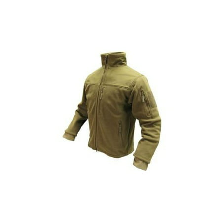 Outdoor Tan Alpha Fleece Jacket - (Tan Kids Jacket)