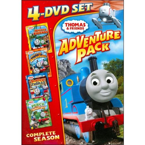 Thomas & Friends: 4-DVD Set Adventure Pack - Railway Friends / High Speed Adventures / Team Up With Thomas / Percy And The Bandstand (Full Frame)