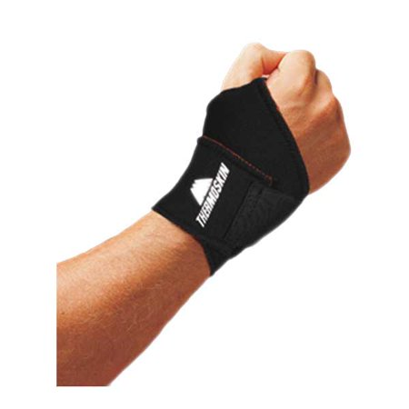Thermoskin Universal Wrist Wrap - Large/ X-Large - Black
