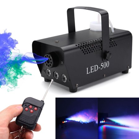Slots Machines Gratis Halloween (500W Wireless Portable Fog Machine With Remote Control for Halloween and Party with Built-in Multi-Color LED Lights for Holidays,)