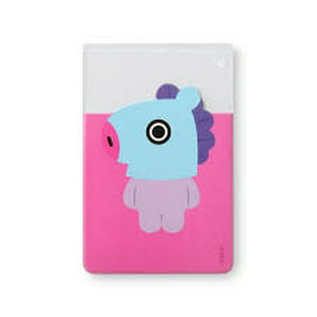 b6de1855b [BT21] Clear 3-Pocket PVC Character Card Case / MANG - Walmart.com