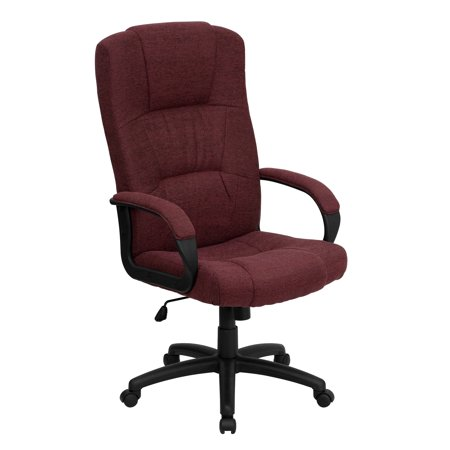 Awe Inspiring High Back Executive Fabric Office Chair Multiple Colors Gmtry Best Dining Table And Chair Ideas Images Gmtryco