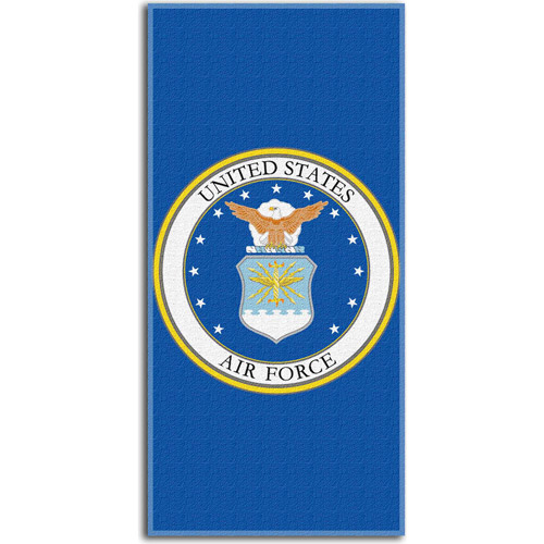 US Air Force Seal Beach Towel