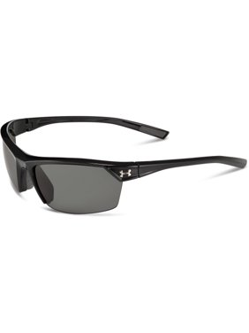 2eea937829 Product Image Men s Zone 2.0 Polarized Sunglasses Shiny Black Charcoal Grey  Rubber. Under Armour