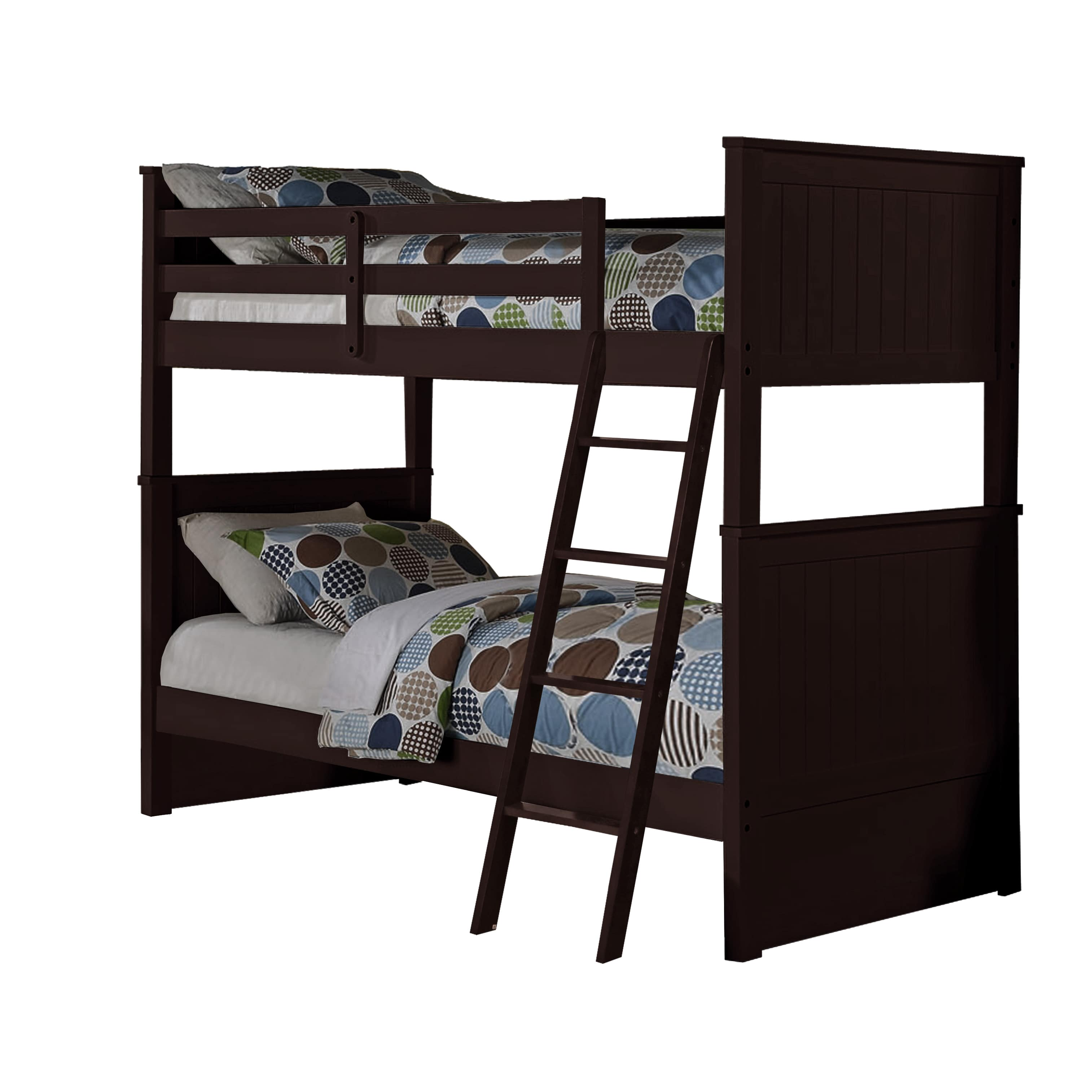 Us Tamex Corp Madison Twin Over Twin Bunk Bed Walmart Com