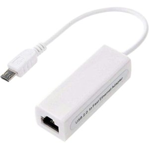 MICRO USB 2.0 TO 10/100 MBPS ETHERNET ADAPTER USB 1.0 USB 1.1