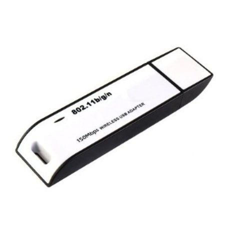WiFi Wireless IEEE 802.11N/G/B WLAN 150Mbps Network Adapter USB2.0 Wireless Lan USB Adapter for Laptop Noteook Desktop PC Suport Vista/Windows.., By