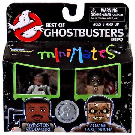 Ghostbusters Best of Minimates Series 2 Winston Zeddmore & Zombie Taxi Driver Minifigure (Best Of White Zombie)