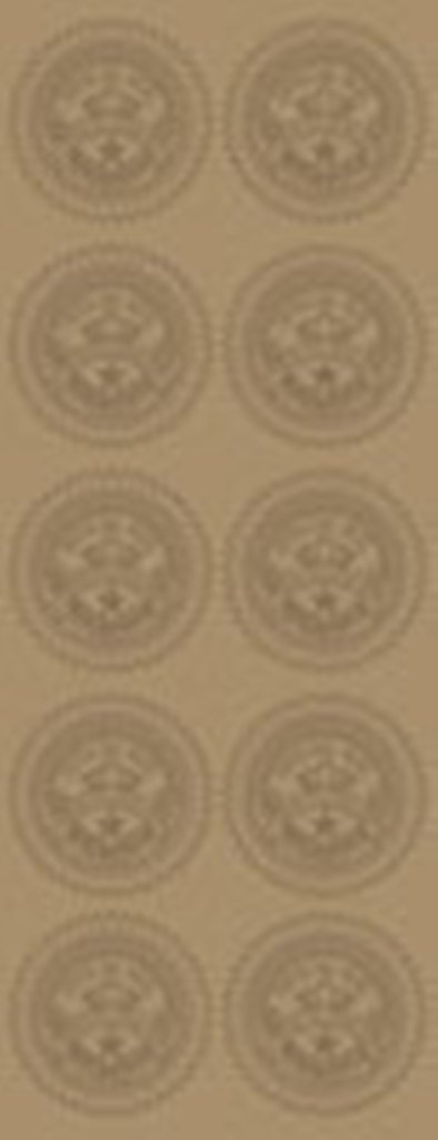 """Geographics Gold Excellence Certificate Seals Round 2"""" Diameter Self-adhesive For Award, Certificate,... by Geographics®"""