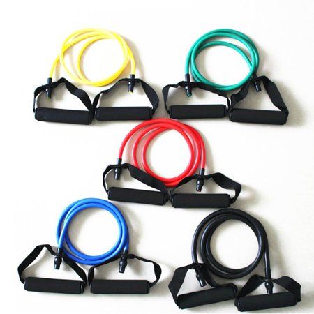 Fitness Exercise Cords Pull Rope Stretch Resistance Bands Elastic Yoga Rope - image 6 of 9