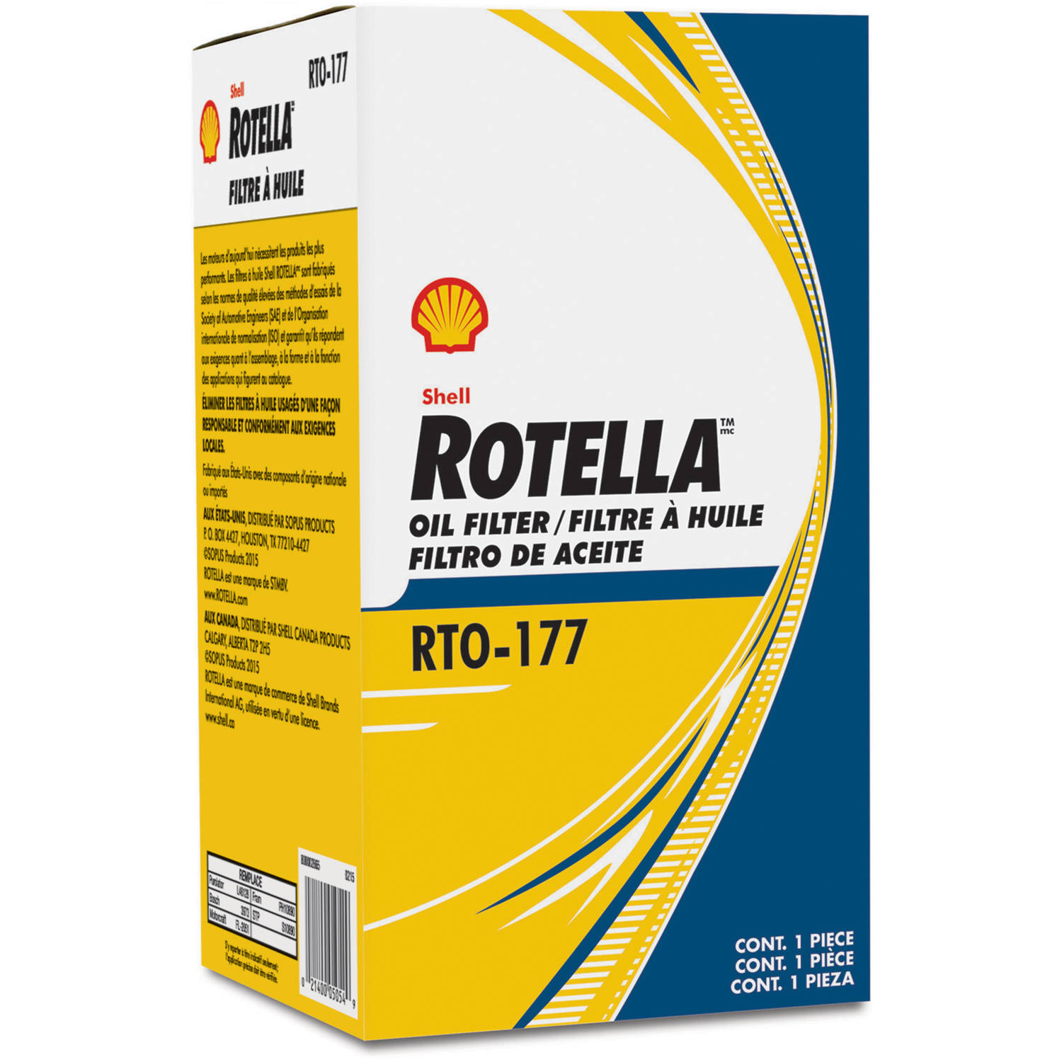 Rotella t6 plus rotella filter rto177 for Shell synthetic blend motor oil
