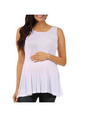 8e6eed6b17d56 Product Image Women's Maternity Sleeveless Tunic Tank