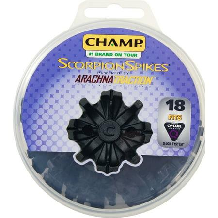 - Champ Scorpion Q-Lok Golf Spikes (18 ct. Disk)
