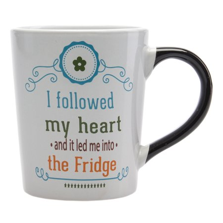 Tumbleweed 20oz Funny Quote Cute Ceramic Coffee Mug Porcelain Stoneware Cup Handle ()