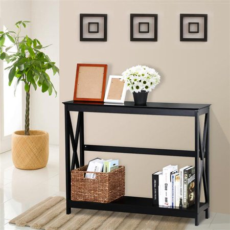 X Design Hall Console Table, Black ()