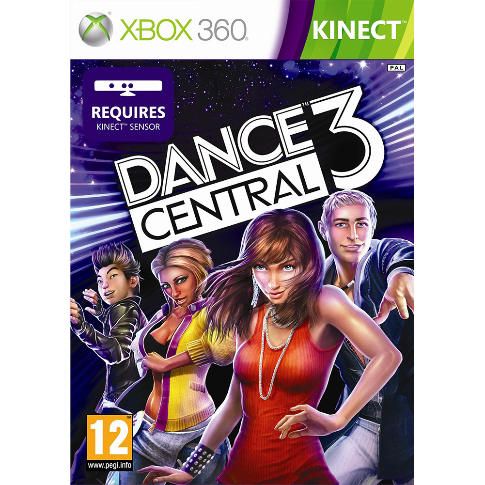 Dance Central 3 for Kinect XBOX 360