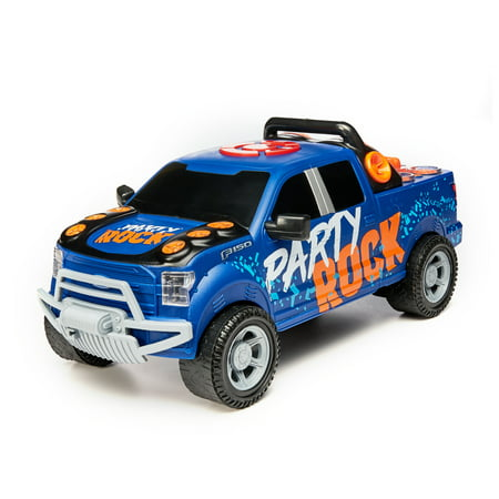 Adventure Force Rowdy Rocker Motorized Truck, Blue Ford (Ford Heavy Truck)
