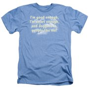 Saturday Night Live SNL I'M Good Enough Mens Heather Shirt
