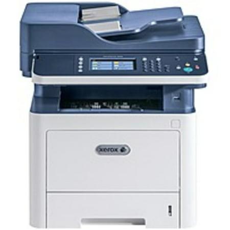 Reversible Top Fax - Refurbished Xerox WorkCentre 3335/DNI Laser Multifunction Printer - Monochrome - Plain Paper Print - Desktop - Copier/Fax/Printer/Scanner - 35 ppm Mono Print - 1200 x 1200 dpi Print - Automatic