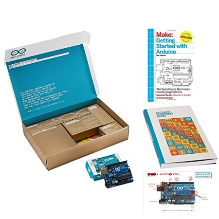 The Official Arduino Starter Kit Deluxe Bundle with Make: Getting Started with Arduino: The Open Source Electronics Prototyping Platform 3rd Edition