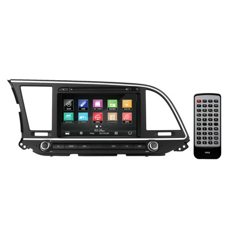 2016 Hyundai Elantra Factory OEM Replacement Stereo Receiver, Plug-and-Play Direct Fitment Radio Headunit