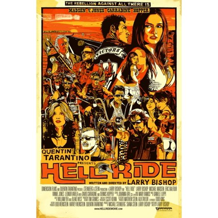 Hell Ride Movie Poster (11 x 17)