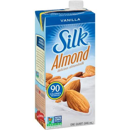 One Shoulder Milk Silk (Silk Pure Vanilla Almond Milk, 32 oz. 6 count )