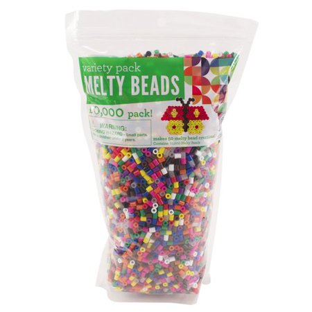 Polygon Bead - Horizon Group USA Primary Melty Beads, 10,000 Count