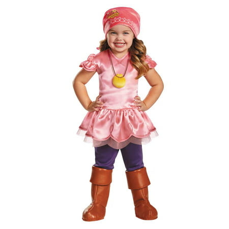 Disney Jake & The Never Land Pirates Toddler Girls Izzy Halloween Costume 2T