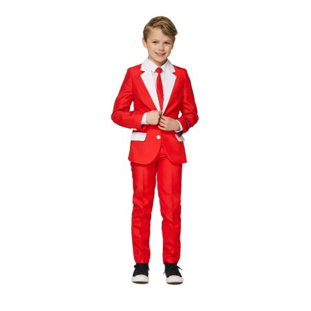 Santa Outfit Adult (Suitmeister Boys Santa Outfit Christmas)