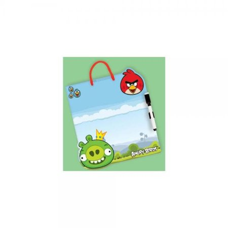 Fun-Filled Angry Birds Birthday Party Dry Erase Board Favour, Plastic - Bird Birthday Party