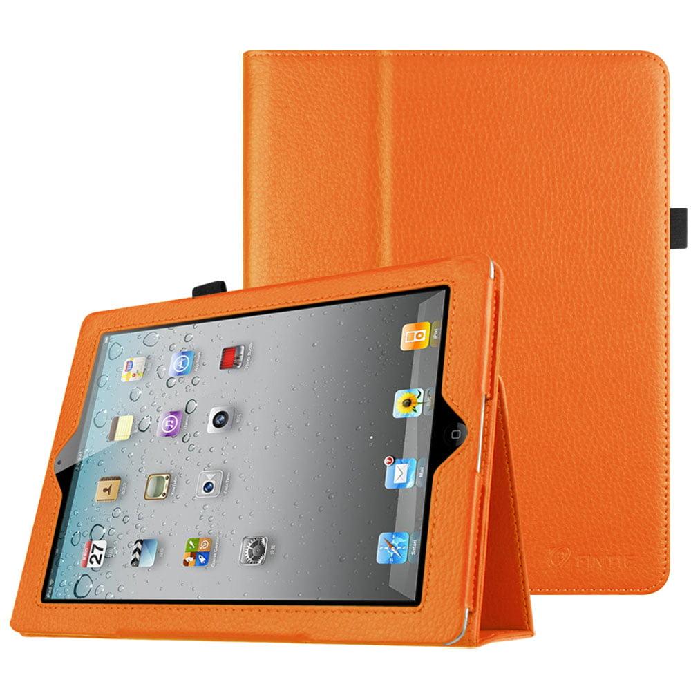 super popular e5e08 48bab Fintie iPad 2/ iPad 3/ iPad 4 Gen Folio Case - PU Leather Cover with Auto  Wake/ Sleep Feature, Black